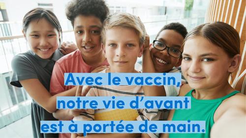 Les élèves bruxellois peuvent obtenir une injection de vaccin covid à l'école