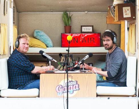 Radio Gaga - Dominique Van Malder en Joris Hessels - (c) Titus Simoens