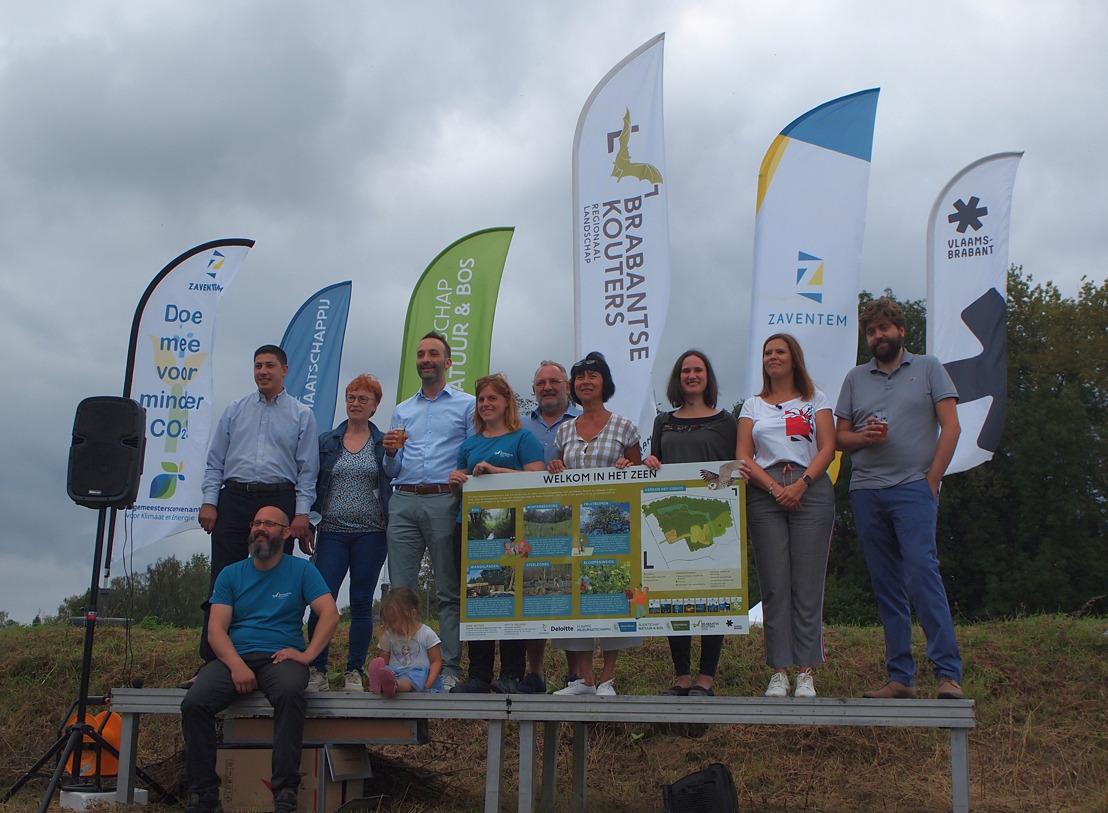 Het Zeen in Zaventem breidt uit met 8 hectare belevingsnatuur