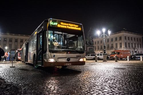 Gratis pendelbussen voor Museum Night Fever