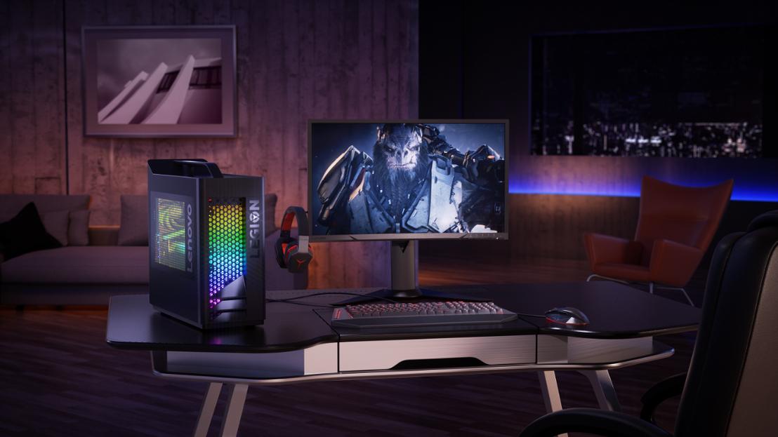 Stylés et élégants, voici les nouveaux PC de jeu Lenovo Legion™