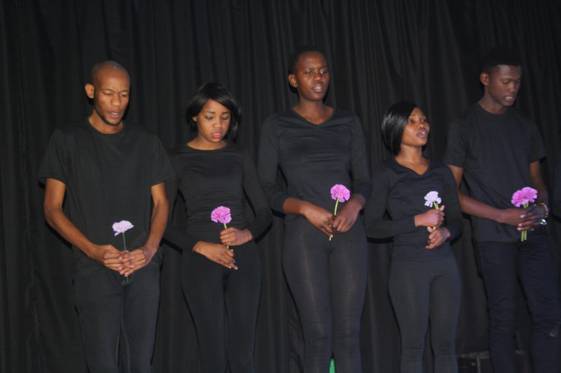 Confessions of a Student with Boutel Sebulela, Jo-Anne Bhembe, Anitor Monareng, Cate Moremi and Legend Lengwati - credit Vella Nyomi of Northern Media Group