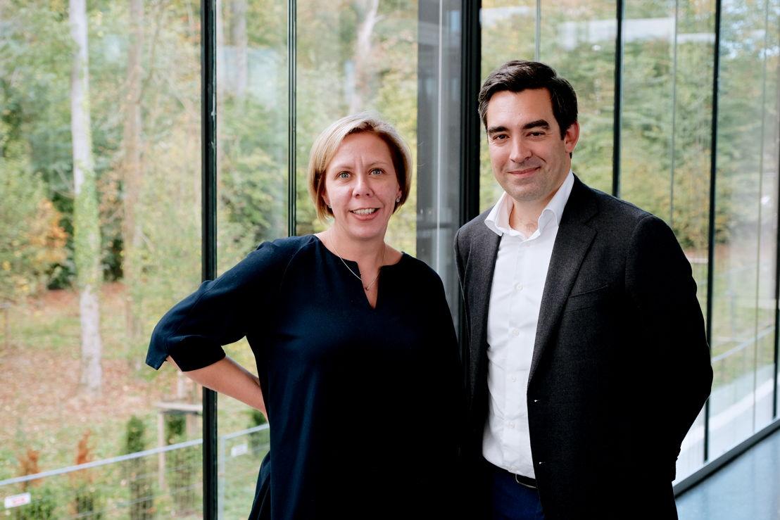 Sabine Vanderveken (Marketing Director) & Samuel Duchenne (Operations Director)