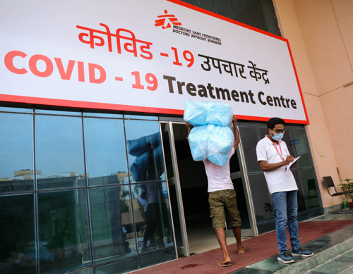 Médecins Sans Frontières opens 100-bed COVID-19 treatment centre in Bihar, India