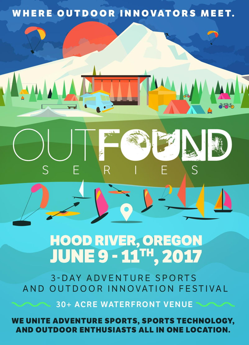 OUTFOUND Series Flyer - Front