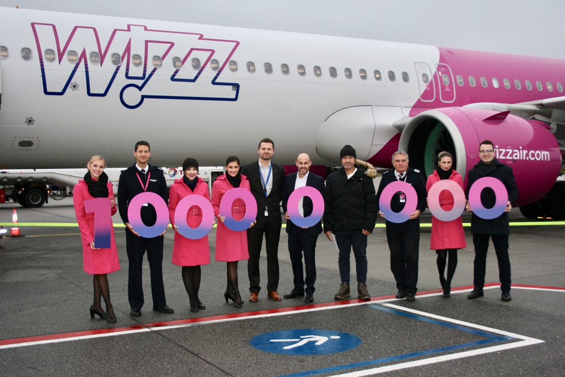 WIZZ AIR: 14 YEARS OF SUSTAINABLE PASSENGER TRANSPORT TO EINDHOVEN