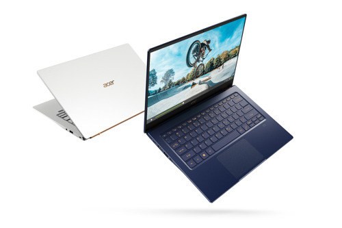 Acer's New Swift 5 Maintains the World's Lightest 14-inch Notebook, Now with Discrete Graphics for Performance On-The-Go