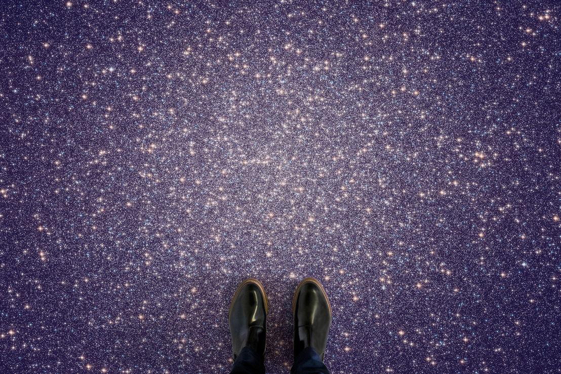 'Cluster' - Star Cluster in Pantone's Ultra Violet