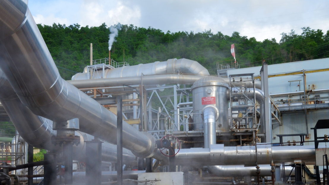 Bouillante Geothermal Plant, Guadeloupe