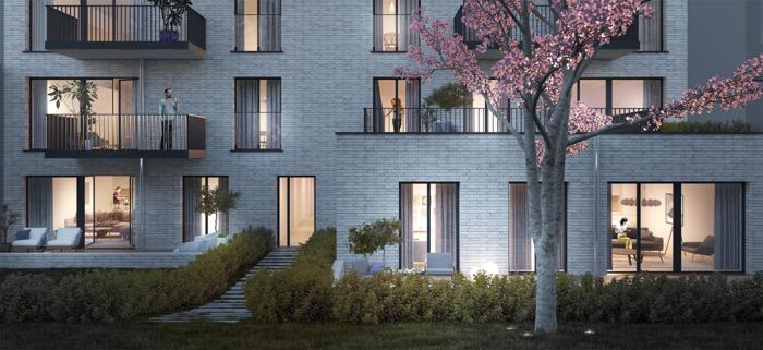 « Auguste » : un nouveau projet immobilier vert dans le quartier Reyers