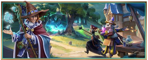 Elvenar's June event: The sorcerers are coming home