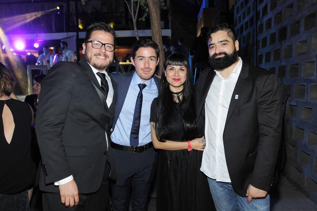 Pablo Mata, Fernando Pérez, Abigail Vázquez y Francisco Ruano