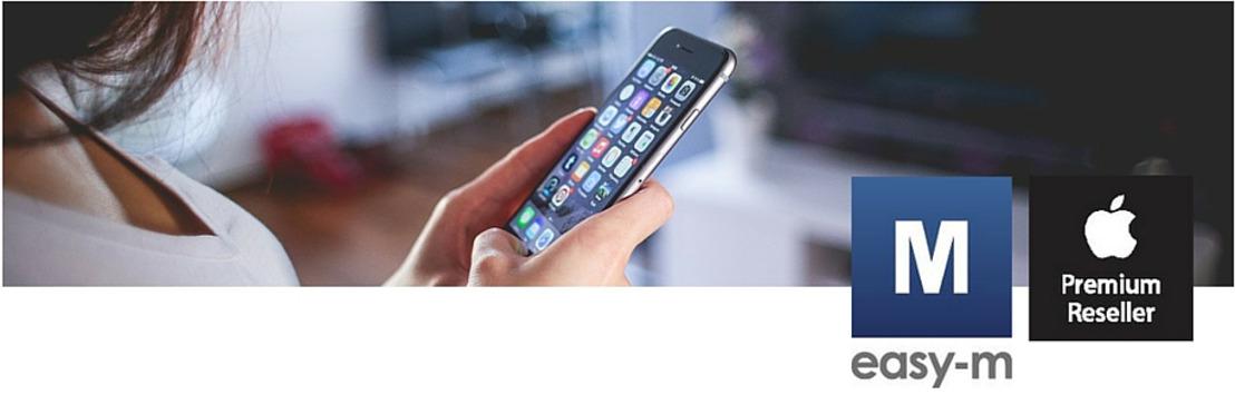 Gebroken iPhone-scherm nu te herstellen bij easy-m