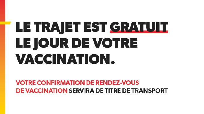Covid-19 | Le TEC transporte ses voyageurs gratuitement vers les centres de vaccination !