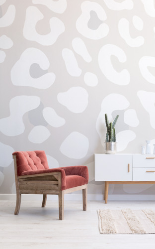 Wall murals that take the animal print trend to a wild new place