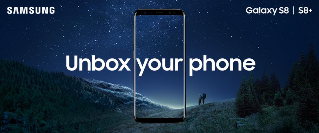 Launch Samsung S8