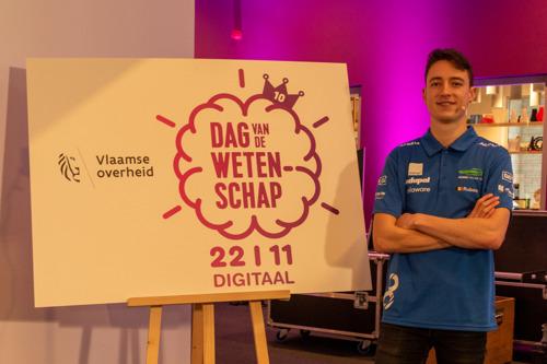 Agoria Solar Team opent tiende editie van Dag van de Wetenschap