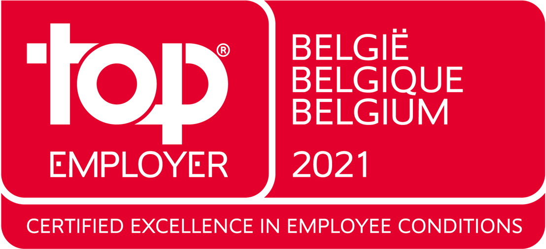 Orange Belgium elected as TOP EMPLOYER for the 10th time in a row
