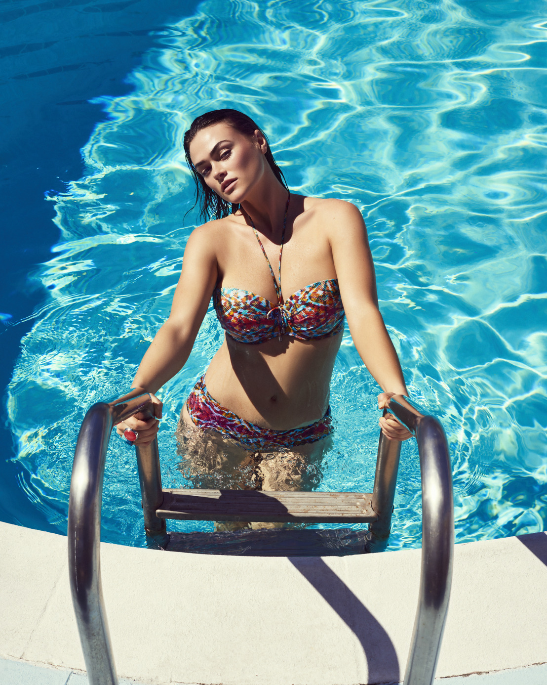 PrimaDonna Swim SS19: Pop art, ambiance sixties et California love