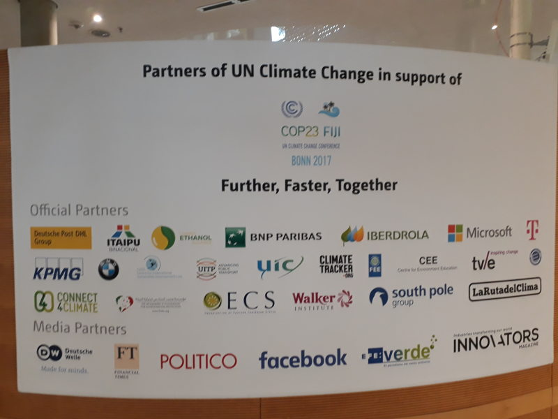 The OECS an official partner of COP 23.