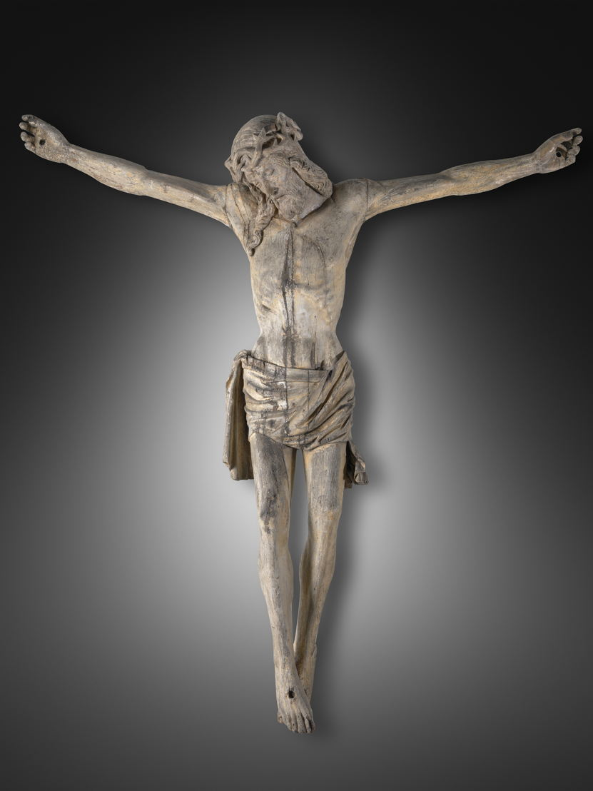 Christ on the Cross, Master of the Christs on the Cross, c. 1500 © Lukas - Art in Flanders, foto Dominique Provost