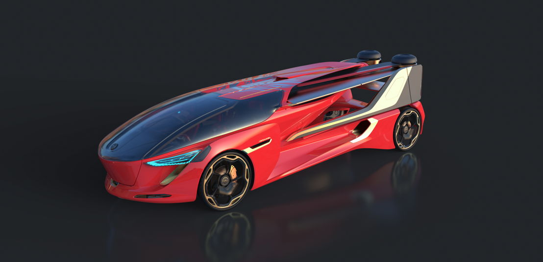 "AeroMobil 5.0 ""Sky Dragon"" Concept car mode"