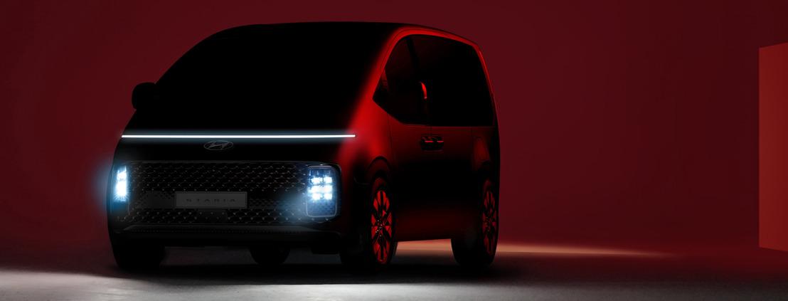 Hyundai zeigt erste Bilder des STARIA – ein neues MPV-Modell mit futuristischem Design und Premium-Charakter