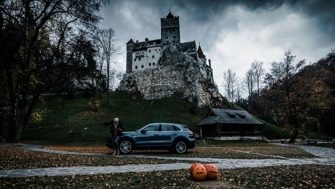 Siguiendo los pasos del Conde Drácula en un Porsche Cayenne S
