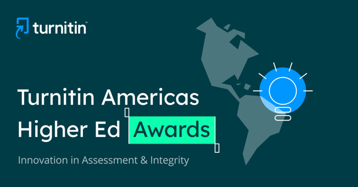 Nominations Open for Turnitin Americas Higher Education Award Recognizing Innovation in Assessment and Academic Integrity