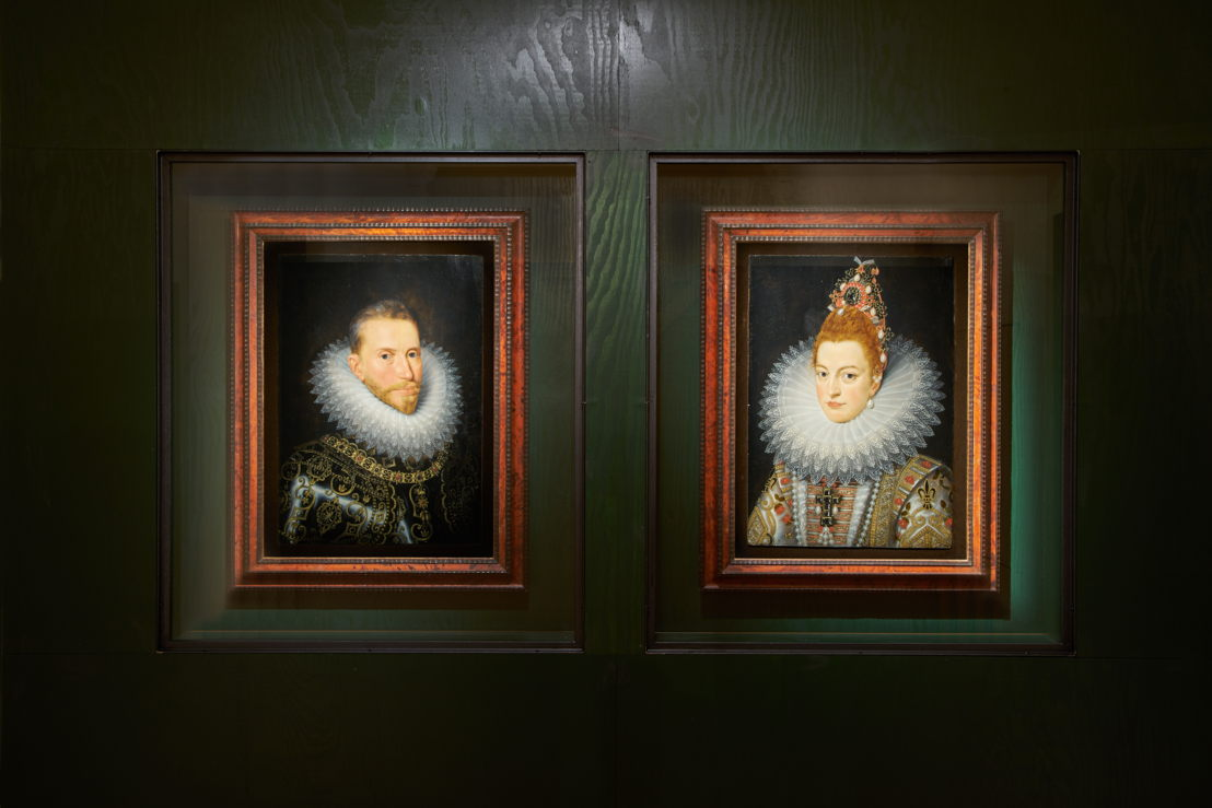 AFTER FRANS II POURBUS<br/>Portrait of the Archduke Albert <br/>Portrait of the Archduchess Isabella <br/>First half of 17th century <br/>Groeningemuseum, Brugge<br/>(c) Dirk Pauwels