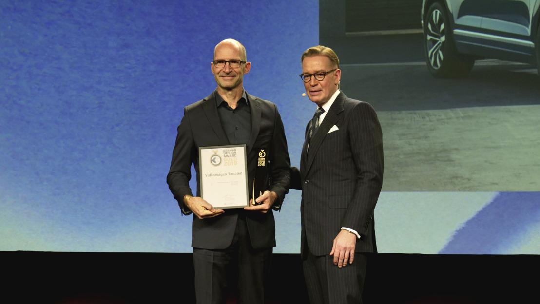 Volkswagen Touareg obtiene el oro en el evento de German Design Award