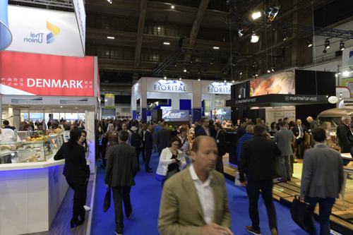 Seafood industry professionals together in Brussels for the largest global seafood trade event