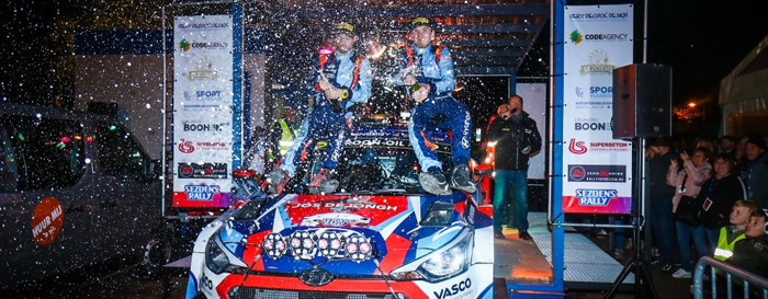 Preview: Winst in Sezoensrally !