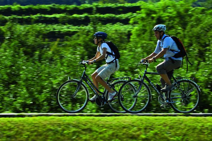 Trentodoc in bicicletta