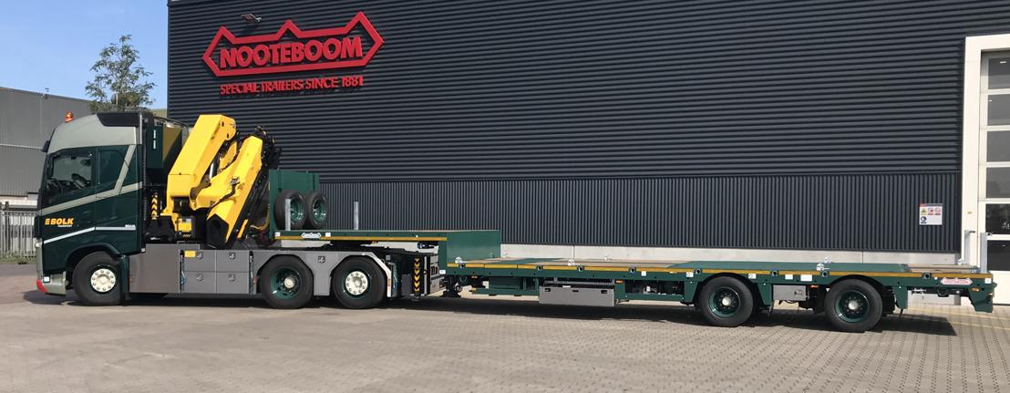 Nooteboom levert 10 nieuwe semidiepladers aan Bolk Transport