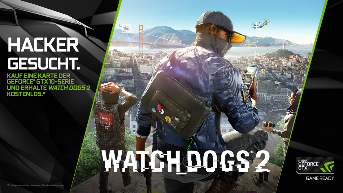 Watch Dogs 2 mit NVIDIA GameWorks und Ansel