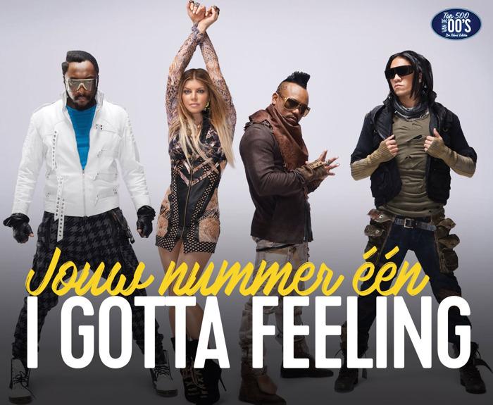 Qmusic-dj's Sean en Maureen brengen 'I Gotta Feeling' van Black Eyed Peas, nieuwe nummer 1 in Top 500 van de 00's