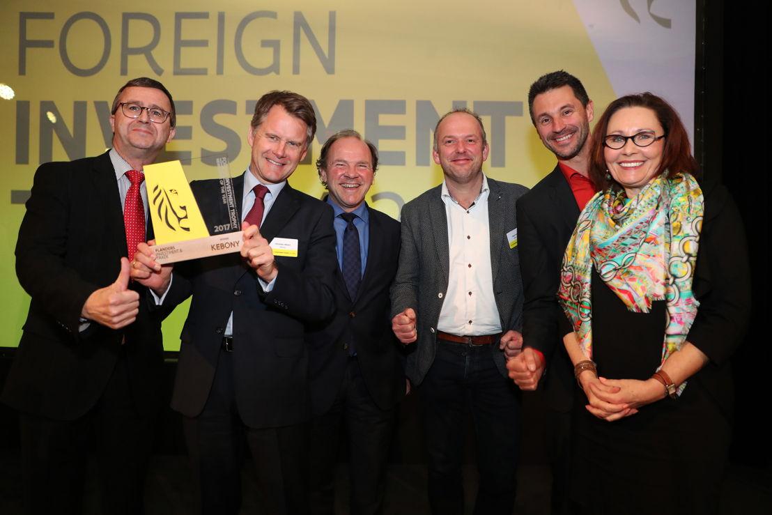 CEO Christian Jebsen van Noorse houtproducent Kebony ontvangt Trophy  allereerste Newcomer of the Year