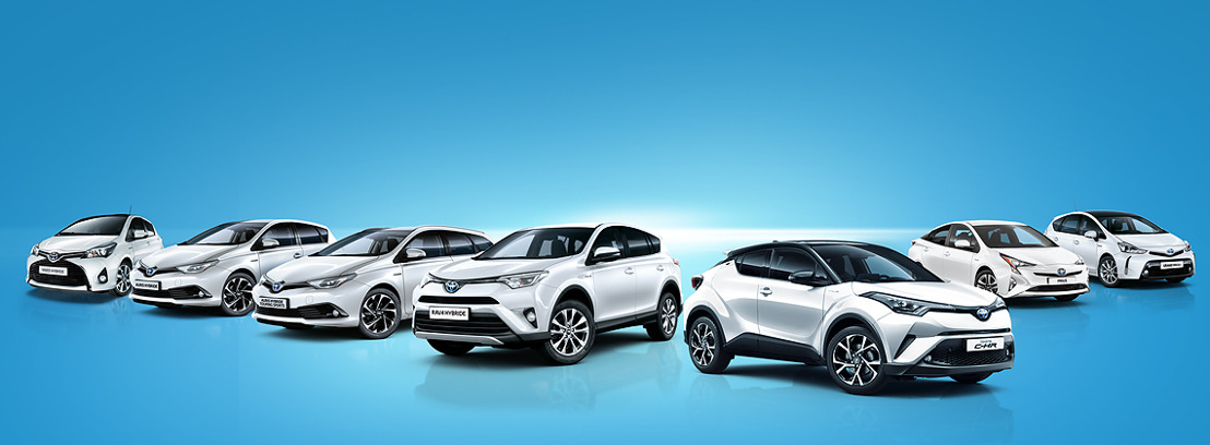 Verlenging & uitbreiding Extra Fleet ondersteuning op Toyota Hybride modellen tijdens de maanden september-oktober !