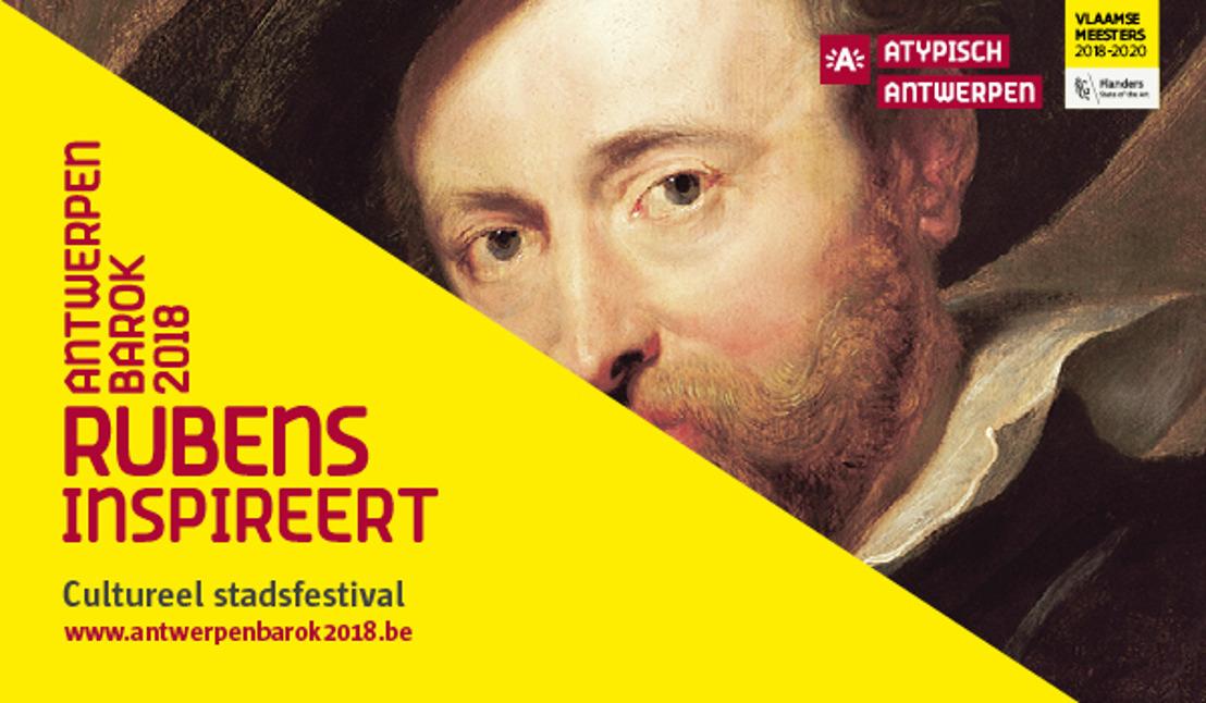 29.06.2018 Persnieuwsbrief juli: Activiteiten in juli brengen hoog bezoek naar 'Antwerpen Barok 2018'.