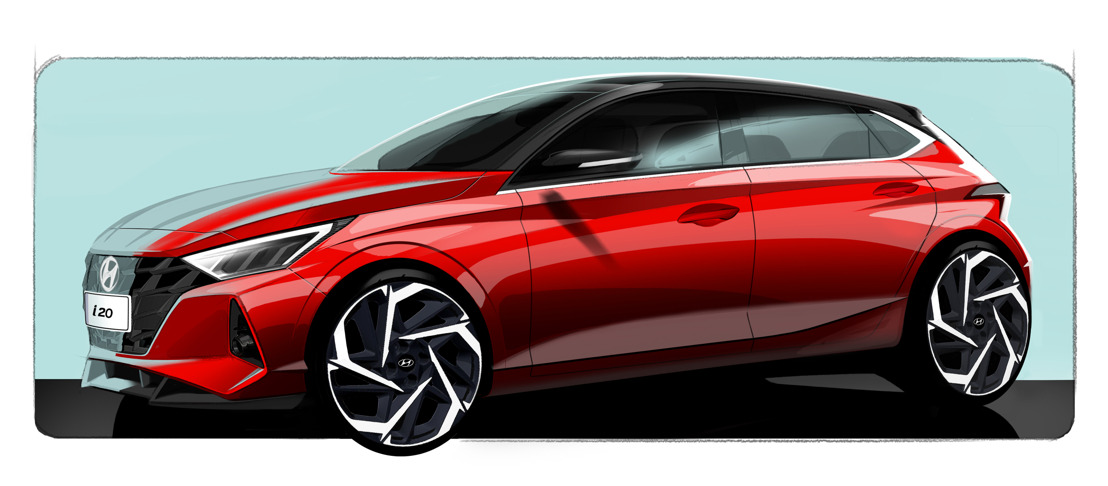 Hyundai enthüllt erste Skizzen des All-New i20