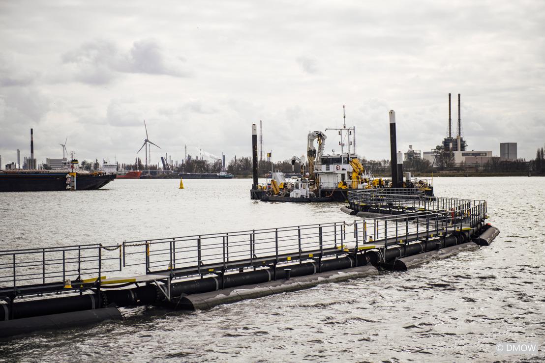 Le Gouvernement flamand, Port of Antwerp et SeReAnt améliorent la qualité de l'eau du port d'Anvers