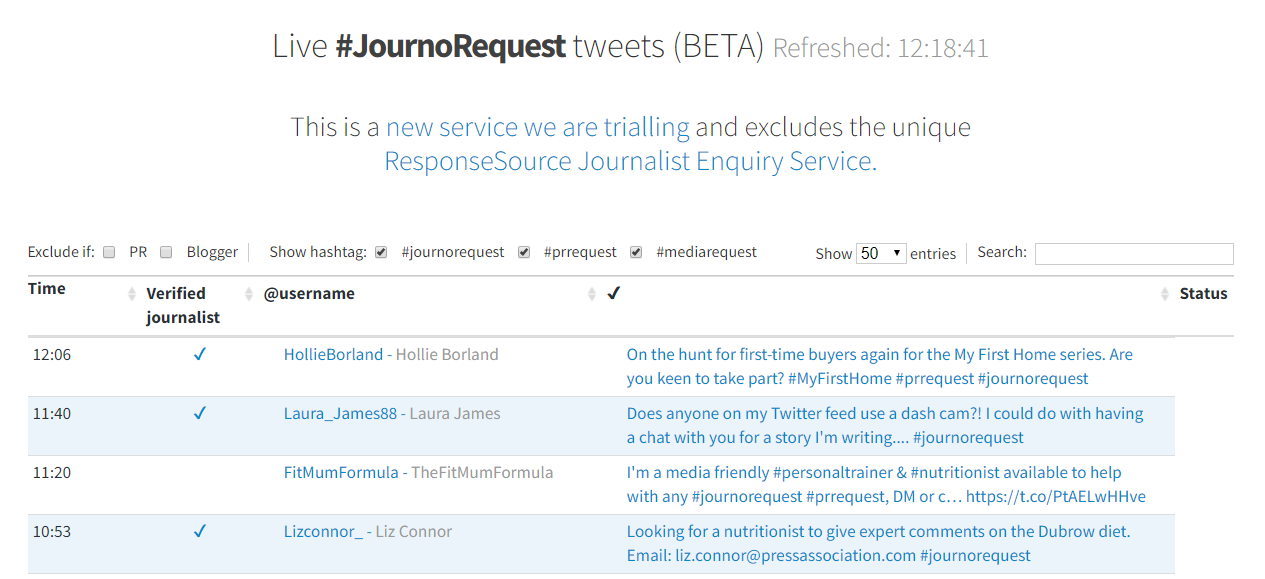 JournoRequests can help you find opportunities to get covered by UK media