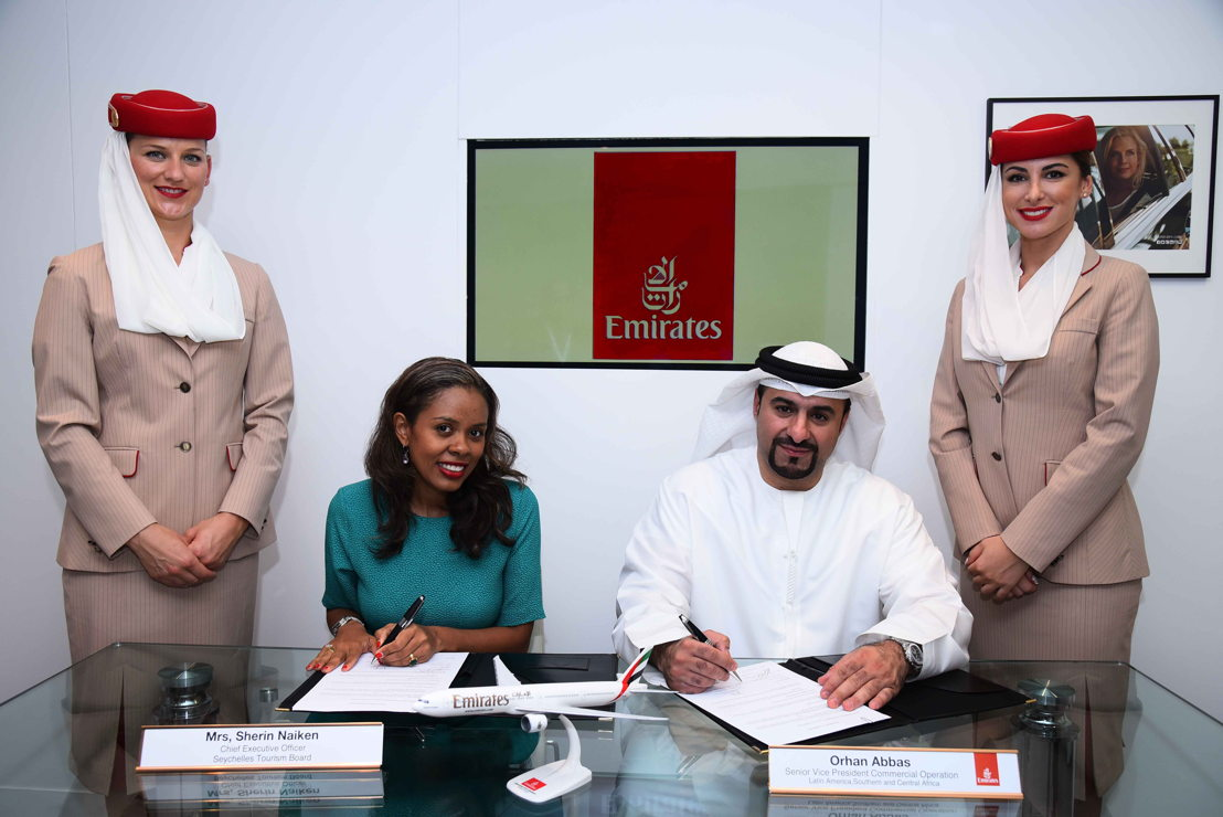 """emirate marketing and emirates Emirates terminal 3  sees sponsorship as vital in our marketing strategy """"we believe sponsorships are one of the best ways to connect with our passengers."""