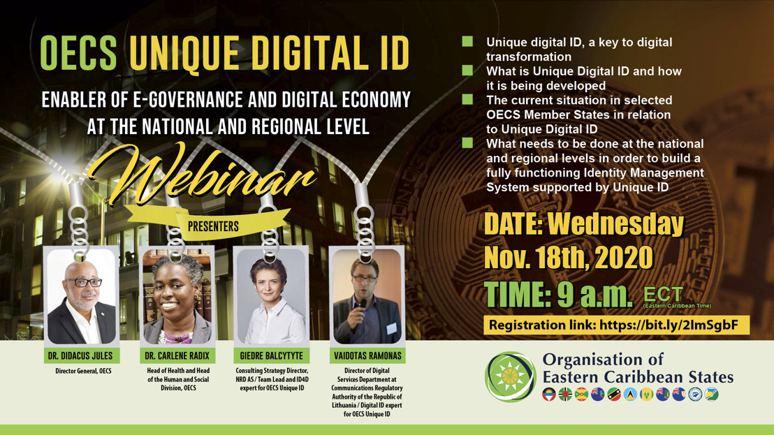 OECS Unique Digital ID: Enabler of e-Governance and Digital Economy at the National and Regional level