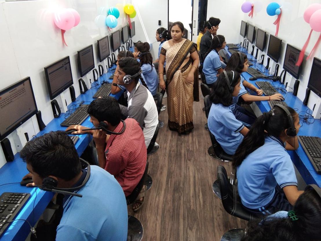 HP Inc. streeft ernaar rond 2025 het onderwijs te verbeteren voor 100 miljoen mensen