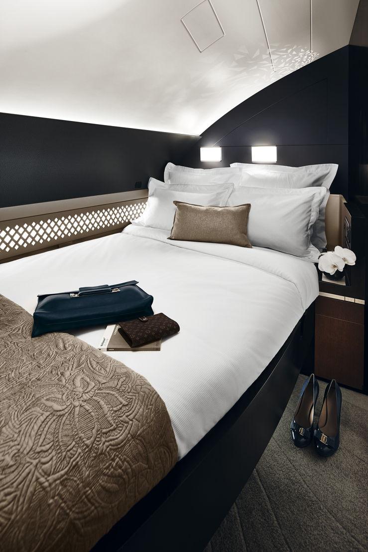 De slaapkamer van The Residence by Etihad.