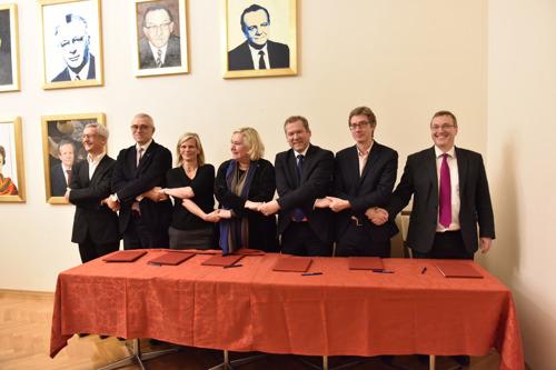 La VUB et ses partenaires fondent l'université européenne 'EUTOPIA'