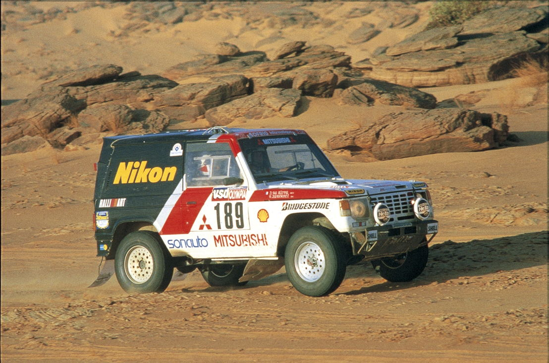 Mitsubishi Pajero - First Dakar win - 22. Jan 1985