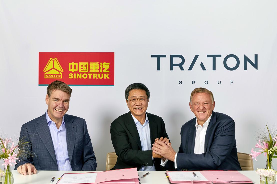 TRATON y la empresa china Sinotruk amplían su alianza estratégica